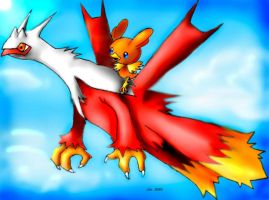 Latiken and Torchic