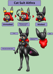 Cat Suit Aithra Reference by Luigirocks84