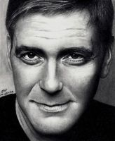 George Clooney 2 by Doctor-Pencil
