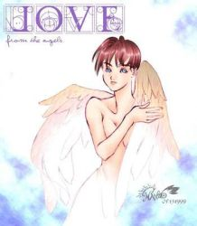 Old CG 31 Love from the angels by manzo