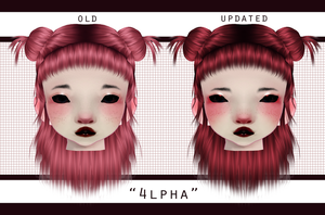 oc update - 4lpha by PeachMilk3D
