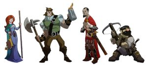 Choose your own adventurer by chief-orc