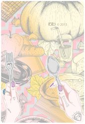 Foods for Fall colors by l0ll3