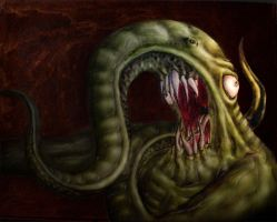 Nyarlathotep - Post Photoshop by PatrickPower