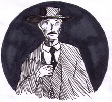 Lee van Cleef by Antaie