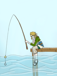 Fishing by GeorgiaTheBudgie24