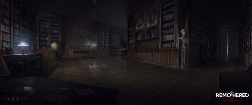 REMOTHERED: Tormented Fathers - Library (Concept) by Chris-Darril