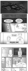 Round 1 Pg 1 by One-eyeHitomi