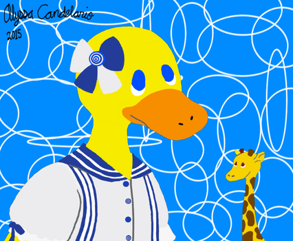 Dress up Duck by WhatIsFreedomToYou