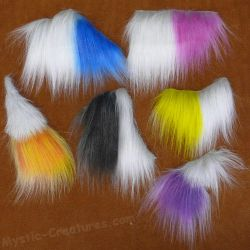 Airbrushed fakefur samples by Mystic-Creatures