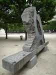 Bench statue - Force et Tendresse by EUtouring
