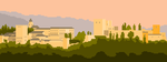 Sunset on The Alhambra/Un atardecer en la Alhambra by JosplosionPlus