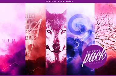 Textures pack special Teen Wolf by Giulia - WG by Wildnessgraphics