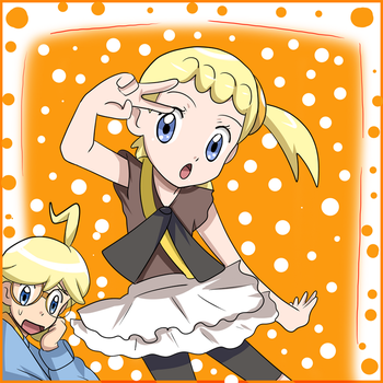 clemont and bonnie by hikariangelove