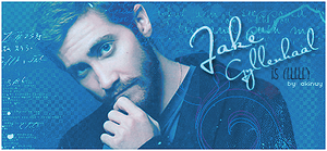 Jake Gyllenhaal signature by akinuy