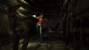 Claire Redfield by James--C