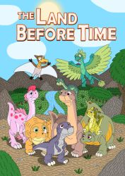 The Land Before Time adventures by MCsaurus