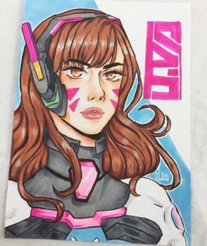 D.VA OVERWATCH by erensboi