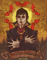 Barnabas Collins by aquiles-soir