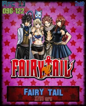 Fairy Tail Arc 13 - X791 arc AnimeIcon by Zule21
