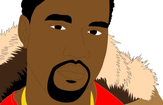 Kanye West by robot-lover