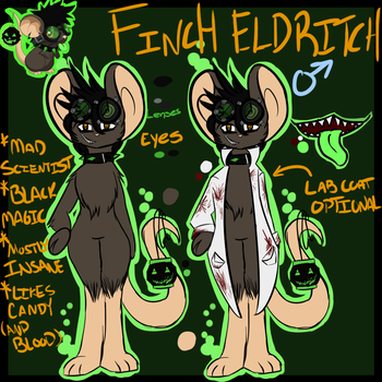 Finch Ref by Hollow-Jack