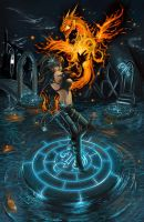 Ritual at the Ruins by JNetRocks