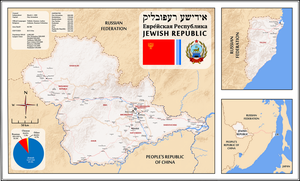 Stalin's Zion (a Jewish Republic in the Far East) by AlternateHistory87