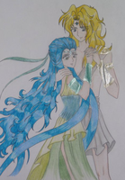 dioses Hera and Zeus by ehatsumi