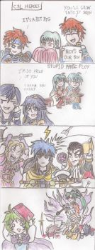 [FEH 4Koma] #58: CYL Heroes by Willanator93