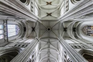 Cathedral of Nantes ceiling by SP4RTI4TE