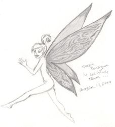 Pseudo Tinkerbell pixie by Leo9
