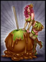 Carmal Apple witch by Harpyqueen