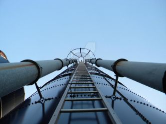Ladder to the sky by MightyRain