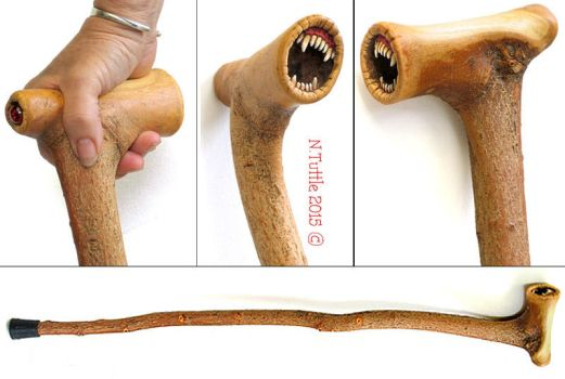 The Chew Stick by psychosculptor