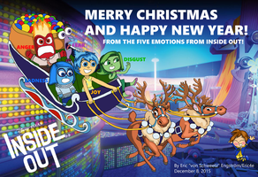 Christmas Card 2015 - Inside Out by EricVonSchweetz