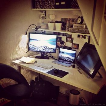 My workstation by Swebliss