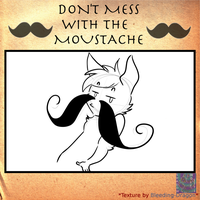 Glory to the moustache by Heise-kun