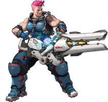 Zarya - Overwatch by PlanK-69