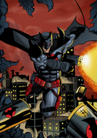 Batman flashpoint by TheoFayde