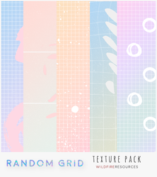 random grid textures by wildfireresources