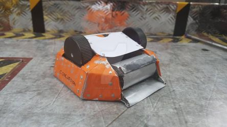 Robot Wars Concussion Model by LouTheFatCat