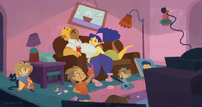 The Simpsons by nna
