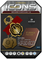 BSG Icons 512 Vol 1-3 - OS X by BSG75