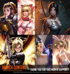 March Content complete ! by Liang-Xing