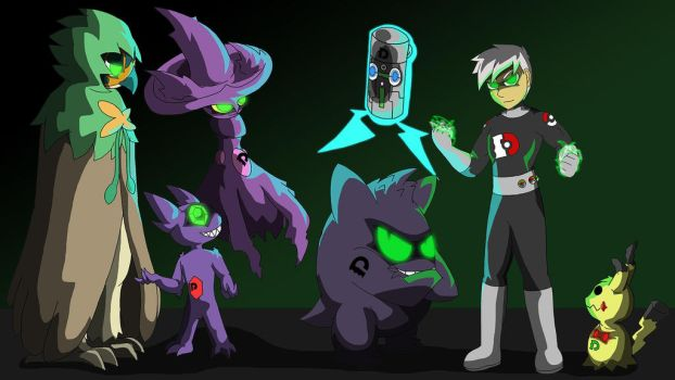 Danny Phantom (pokemon team) by Rene-Sanchez