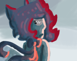 .:Scene Redraw - Lapis is Lapissed:. by SleepyStaceyArt