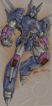 Cyclonus by markerguru
