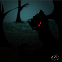 Dark Cat by XBlackIce