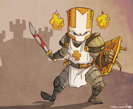 the orange knight by jouste